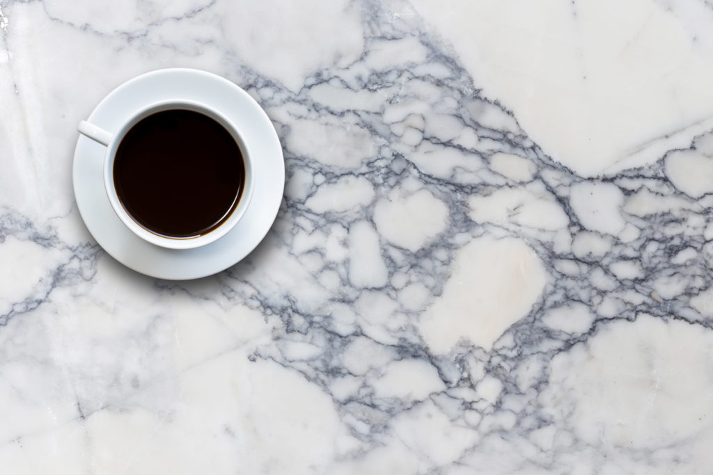 marble coffee stain