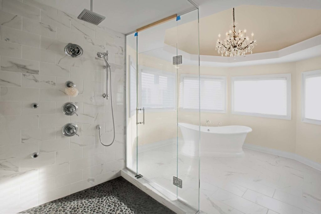 Help There S Rust In My Marble Shower The Marble Clinic